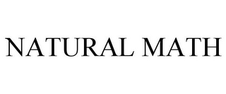 mark for NATURAL MATH, trademark #85537378
