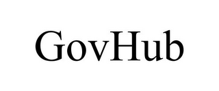 mark for GOVHUB, trademark #85538040