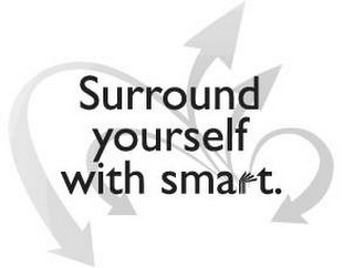 mark for SURROUND YOURSELF WITH SMART., trademark #85538043