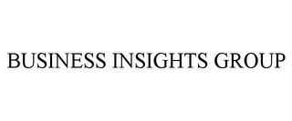 mark for BUSINESS INSIGHTS GROUP, trademark #85538096