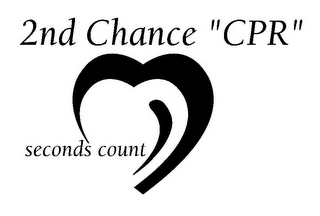 "mark for 2ND CHANCE ""CPR"" SECONDS COUNT, trademark #85538227"