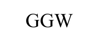 mark for GGW, trademark #85538368