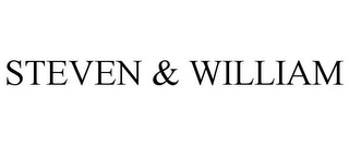 mark for STEVEN & WILLIAM, trademark #85538494