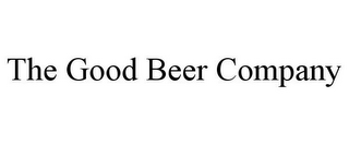 mark for THE GOOD BEER COMPANY, trademark #85539416