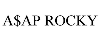 mark for A$AP ROCKY, trademark #85539659