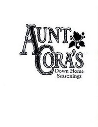 mark for AUNT CORA'S DOWN HOME SEASONINGS, trademark #85540354