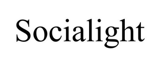 mark for SOCIALIGHT, trademark #85540600