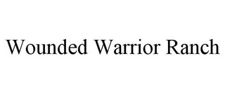 mark for WOUNDED WARRIOR RANCH, trademark #85540887