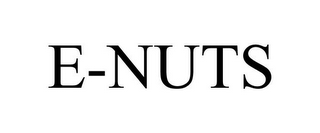 mark for E-NUTS, trademark #85540990