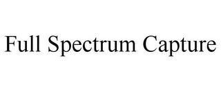 mark for FULL SPECTRUM CAPTURE, trademark #85541388