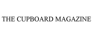 mark for THE CUPBOARD MAGAZINE, trademark #85541514