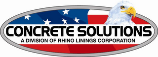 mark for CONCRETE SOLUTIONS A DIVISION OF RHINO LININGS CORPORATION, trademark #85541546