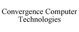 mark for CONVERGENCE COMPUTER TECHNOLOGIES, trademark #85542046