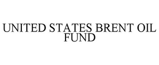 mark for UNITED STATES BRENT OIL FUND, trademark #85542047