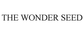mark for THE WONDER SEED, trademark #85542102