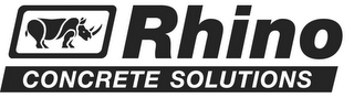 mark for RHINO CONCRETE SOLUTIONS, trademark #85542146