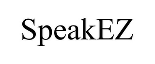 mark for SPEAKEZ, trademark #85542154