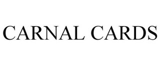 mark for CARNAL CARDS, trademark #85542198