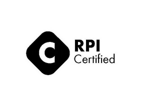 mark for C RPI CERTIFIED, trademark #85542254