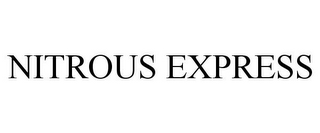 mark for NITROUS EXPRESS, trademark #85542773