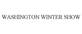 mark for WASHINGTON WINTER SHOW, trademark #85542959