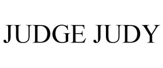 mark for JUDGE JUDY, trademark #85543024
