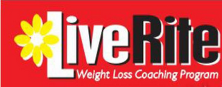 mark for LIVE RITE WEIGHT LOSS COACHING PROGRAM, trademark #85543155