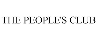 mark for THE PEOPLE'S CLUB, trademark #85543450