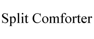 mark for SPLIT COMFORTER, trademark #85543811