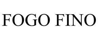 mark for FOGO FINO, trademark #85544351