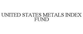 mark for UNITED STATES METALS INDEX FUND, trademark #85544580