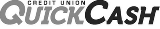 mark for CREDIT UNION QUICKCASH, trademark #85544869