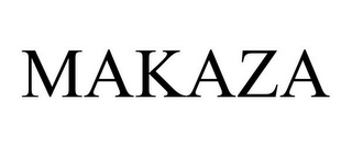 mark for MAKAZA, trademark #85545044