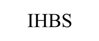 mark for IHBS, trademark #85545480