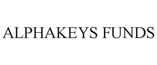mark for ALPHAKEYS FUNDS, trademark #85545530
