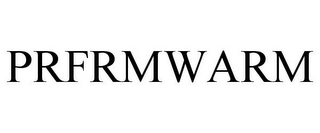 mark for PRFRMWARM, trademark #85545636