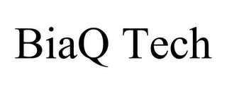 mark for BIAQ TECH, trademark #85545705