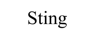 mark for STING, trademark #85545869