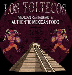 mark for LOS TOLTECOS MEXICAN RESTAURANTE AUTHENTIC MEXICAN FOOD, trademark #85545938