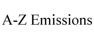 mark for A-Z EMISSIONS, trademark #85545980