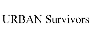 mark for URBAN SURVIVORS, trademark #85545983