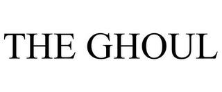 mark for THE GHOUL, trademark #85546498