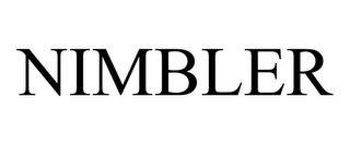 mark for NIMBLER, trademark #85546572