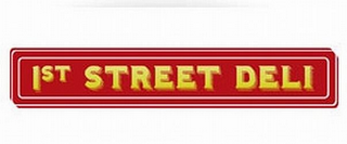 mark for 1ST STREET DELI, trademark #85546890