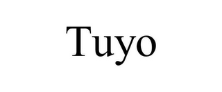 mark for TUYO, trademark #85546899