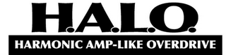 mark for H.A.L.O. HARMONIC AMP-LIKE OVERDRIVE, trademark #85546902