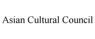 mark for ASIAN CULTURAL COUNCIL, trademark #85547035