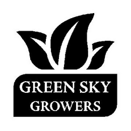 mark for GREEN SKY GROWERS, trademark #85547101