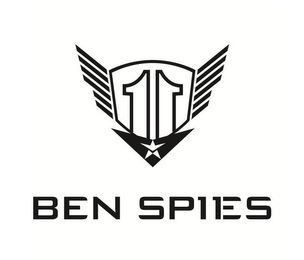 mark for 11 BEN SPIES, trademark #85547423