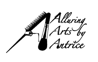 mark for ALLURING ARTS BY ANTRICE, trademark #85547633